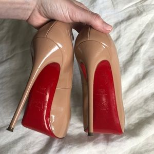 LOUBOUTIN New Very Prive Pumps (120mm - nude)